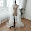 Accesorios de boda de mantón de boda con capa de tul