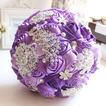 Perla Violeta diamante boda boda foto diseño la decoración creativa con flores