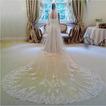 3M de largo encaje velo de la novia 1.5m de ancho velo de la iglesia del velo de la boda velo