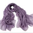 Color puro pañuelos de seda Joker bufanda bufanda bufandas de seda moda