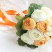 Mano de las novias coreanas de peonía blanca huashan Camelia simulación roja bouquet de bodas
