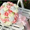 Aparato de simulación 30 hilado con las rosas del ramo de novia todo la estrella de cielo