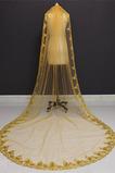 3M lentejuelas doradas velo de novia velo de lentejuelas velo velo de novia catedral