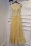 Vestido de dama de honor Drapeado Corte-A Espectaculares Triángulo Invertido