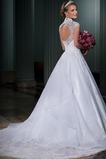 Vestido de novia Clasicos Abalorio Natural Queen Anne Otoño tul