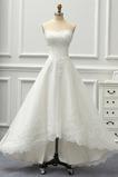 Vestido de novia Sin tirantes Sin mangas Corpiño Acentuado con Perla