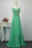 Vestido de noche Gasa Estrellado Colores Cristal Corpiño Acentuado con Perla