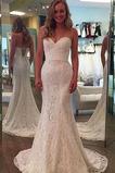 Vestido de novia Romántico Tallas pequeñas Otoño Corte Recto Encaje