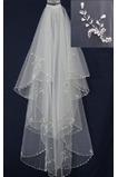Velo de novia Moderno Diosa vestido de novia primavera Abalorio