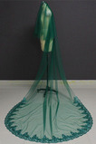 Velo de novia verde velo de novia musulmán velo de cara cubierta 3M