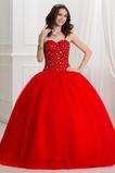 Vestido de quinceañeras primavera Formal Corte-A Cola Barriba Triángulo Invertido