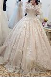 Vestido de novia Cremallera Escote con Hombros caídos Natural Cola Capilla