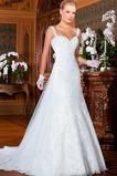 Vestido de novia Sin mangas Cremallera largo Otoño Escote Corazón Natural