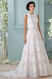 Vestido de novia Encaje Clasicos largo Joya Corte-A Sala