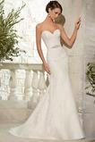 Vestido de novia Apliques Otoño Escote Corazón Encaje Sala Moderno