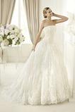 Vestido de novia primavera Formal Cola Capilla tul Encaje Corte princesa