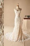 Vestido de novia Clasicos Sin mangas largo Natural Corte Sirena Escote Corazón