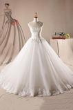 Vestido de novia Espectaculares tul Corte-A largo Cordón Iglesia