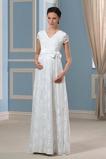 Vestido de novia Espalda medio descubierto Tallas grandes Mangas Illusion