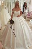 Vestido de novia Playa Capa de encaje Espectaculares Triángulo Invertido