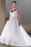 Vestido de novia Tallas grandes Espalda medio descubierto primavera