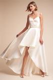 Vestido de novia sexy Escote de Tirantes Espaguetis Cinturón de cuentas
