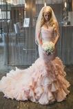Vestido de novia Sin mangas Moderno Escote Corazón Natural primavera