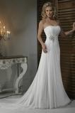 Vestido de novia Corte Recto Satén Escote Corazón Espalda medio descubierto