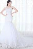Vestido de novia Tiras anchas Apliques Formal tul largo Sala
