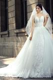 Vestido de novia Encaje Natural Corte-A Falta Formal Escote Corazón