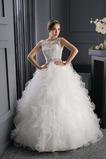 Vestido de novia Invierno Espectaculares Playa Cordón Cola Barriba Satén
