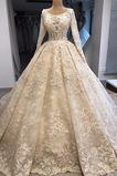 Vestido de novia Espectaculares Falta Escote redondo Cremallera Satén