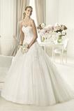 Vestido de novia Formal Sin mangas Encaje tul Escote Corazón Corte-A