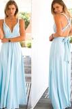 Vestido de dama de honor Dobladillos Corte-A Falta Verano Espalda Descubierta