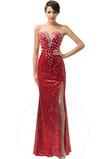 Vestido de noche Elegante Corte-A Escote Corazón Natural Espalda Descubierta