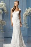 Vestido de novia Playa primavera Cola Capilla Alto cubierto Corte Recto