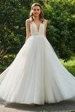 Vestido de novia Sin mangas Rosetón Acentuado Hasta el Tobillo Fuera de casa