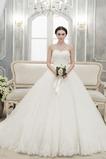 Vestido de novia Elegante Arco Acentuado Natural Corte-A Cordón Fajas