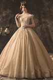Vestido de novia Clasicos Escote con Hombros caídos tul Fuera de casa