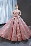 Vestido de fiesta Estrellado Con lentejuelas Corte-A Triángulo Invertido