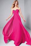 Vestido de fiesta Otoño Corte-A Romántico Escote Corazón Cola Barriba