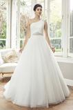 Vestido de novia Corte princesa Manga corta Sala Natural Cremallera