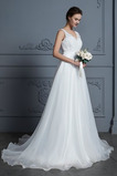Vestido de novia Apliques Otoño Natural Formal largo Falta