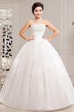 Vestido de novia Sin mangas Cordón Otoño Vasco Abalorio Colores