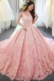 Vestido de novia Corte-A Sala Otoño largo Sin mangas Apliques
