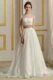 Vestido de novia Playa Romántico Triángulo Invertido primavera Corte-A