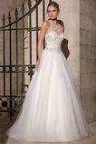 Vestido de novia Corte princesa Organza Moderno Fuera de casa Cremallera