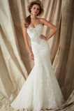 Vestido de novia Corte Sirena Colores Cremallera Sala Cola Capilla Escote Corazón