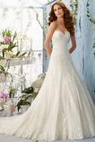 Vestido de novia Elegante primavera Corte-A Sala Escote Corazón Apliques