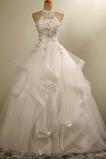 Vestido de novia Corte princesa Formal Apliques Cordón Natural primavera